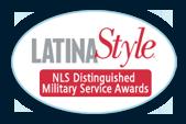 Latina Style NLS Distinguished Military Service Awards